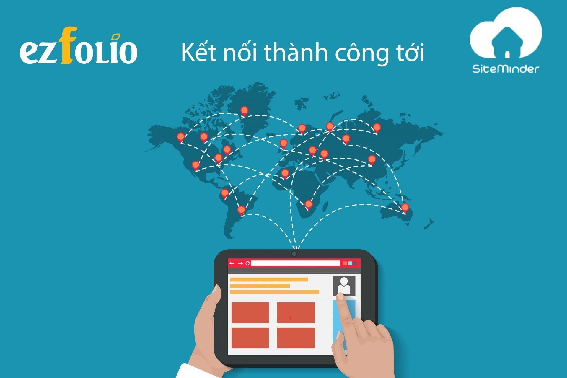 ezFolio – Phần mềm khách sạn duy nhất tại Việt Nam kết nối với SiteMinder