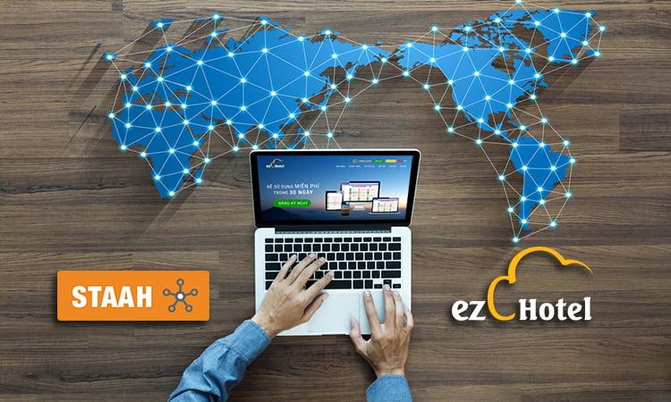 ezCloudhotel – Phần mềm khách sạn duy nhất tại Việt Nam kết nối hệ thống kênh phân phối phòng toàn cầu