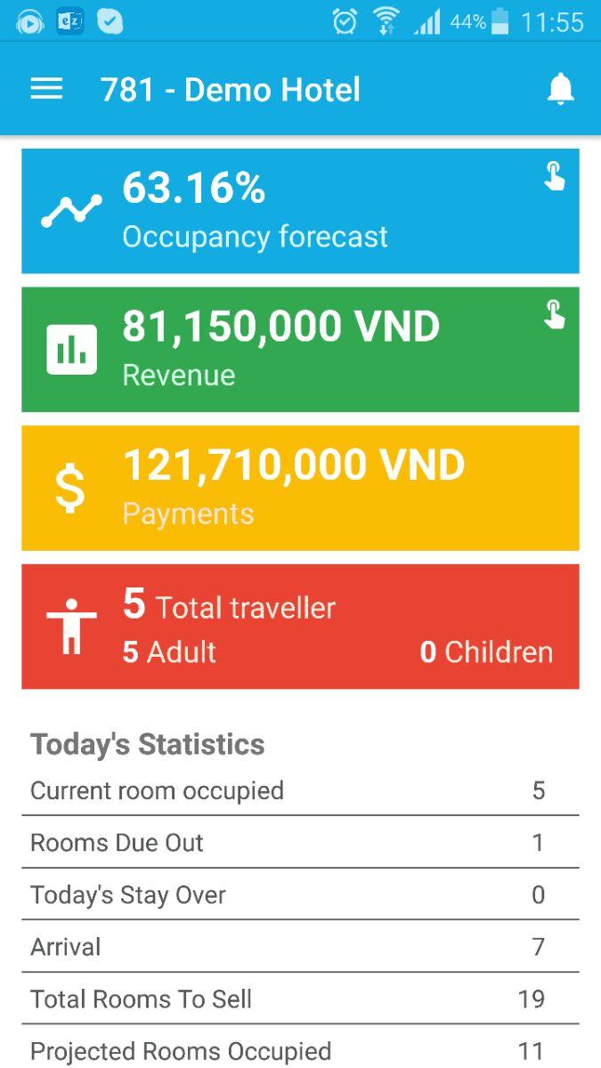 (Review) Phần mềm khách sạn thông minh ezcloudhotel
