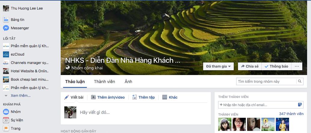Kinh doanh khach san group