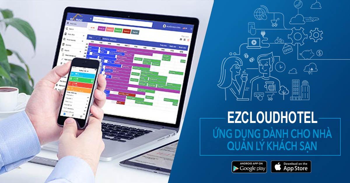 Hướng dẫn sử dụng app ezCloud Hotel Manager (Phần 1)