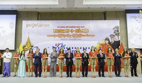 Bản tin khách sạn: Thêm đường bay Hà Nội – Yangon (Myanmar) mới của Vietjet