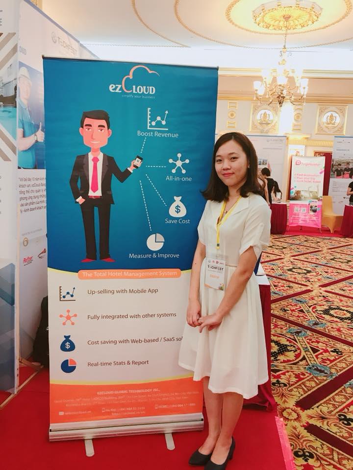 ezCloud tham dự Techfest 2017 - Khởi nghiệp đổi mới và sáng tạo