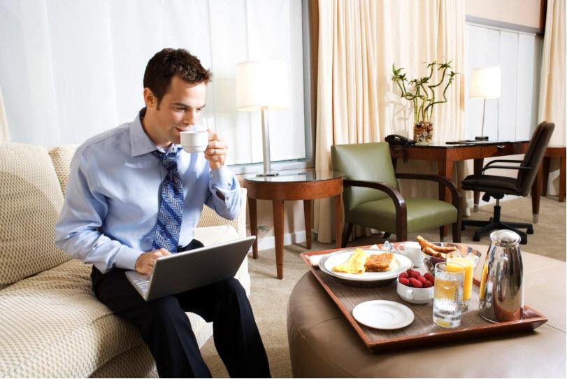 Tăng lượt đặt phòng khách sạn từ khách hàng doanh nhân