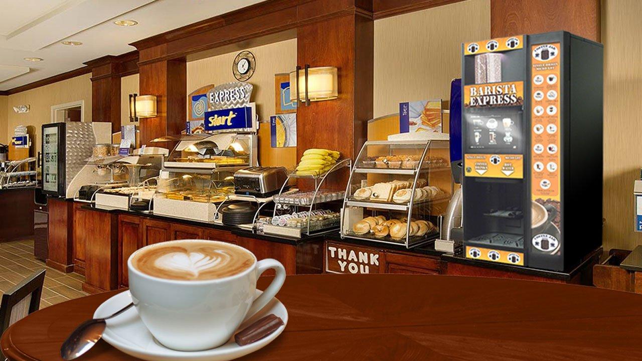 Cung cấp cà phê 24/7 trong kinh doanh khách sạn