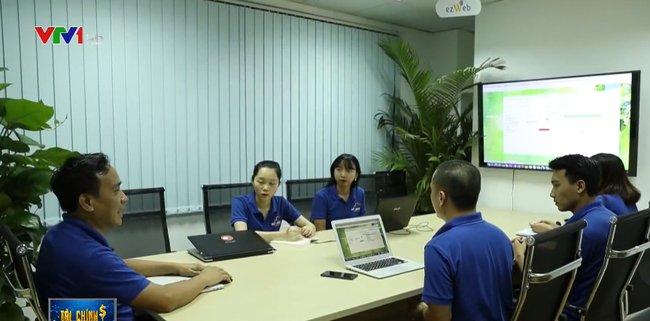 ezCloud trên một chương trình truyền hình của VTV1