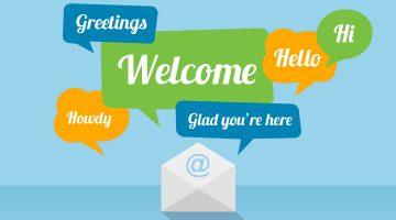Email marketing chào mừng