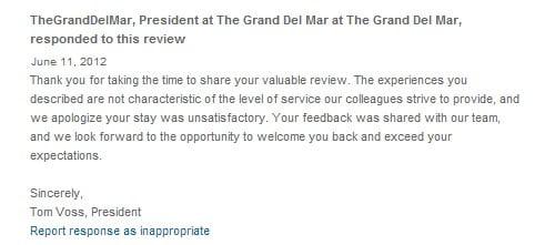 Kinh doanh khách sạn phản hồi của khách sạn 3