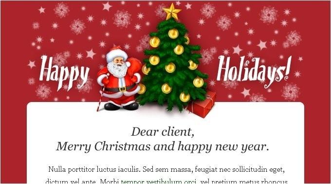 Email marketing khách sạn dịp Giáng sinh