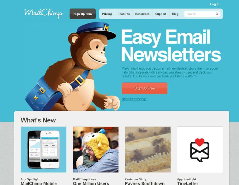 Làm tiếp thị liên kết với mailchimp