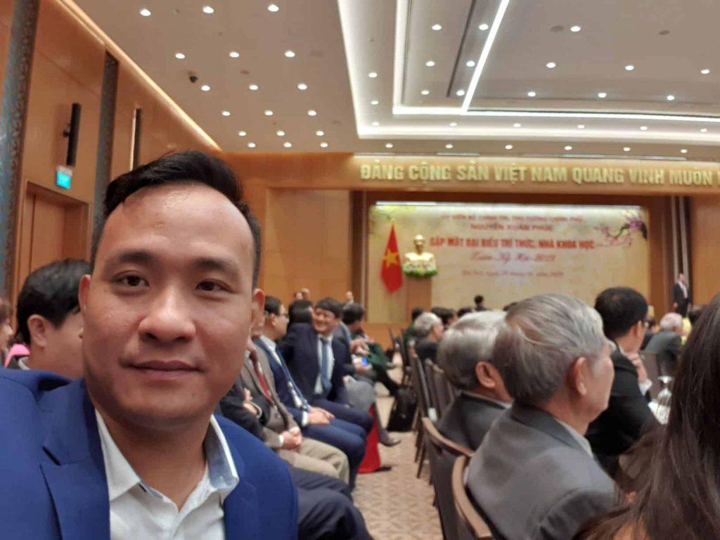 CEO ezCloud tham dự buổi gặp mặt với Thủ tướng Chính phủ Nguyễn Xuân Phúc