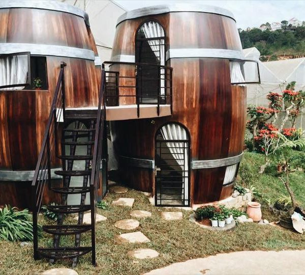 Homestay thùng rượu vang ở Đà Lạt