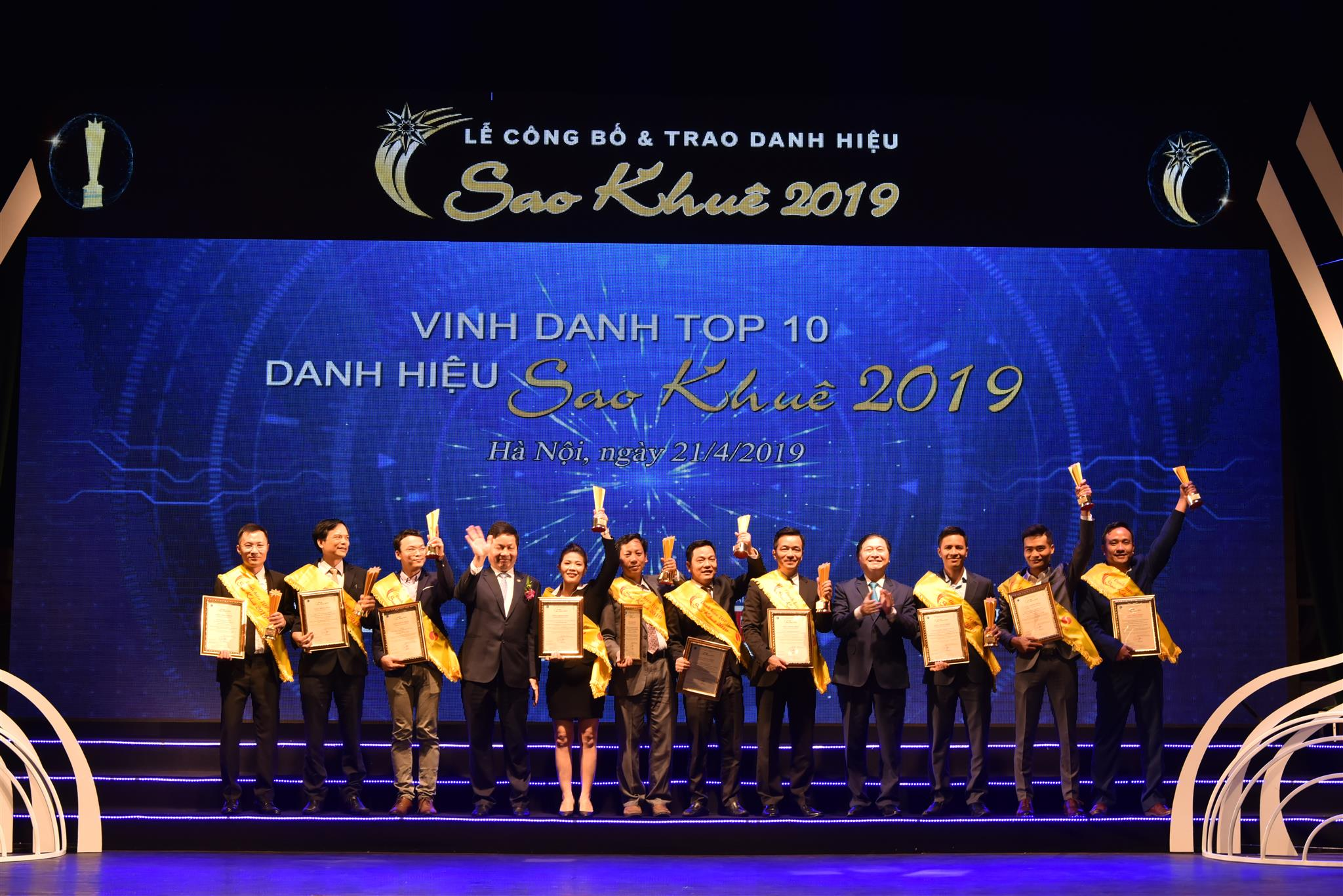 94 sản phẩm, dịch vụ CNTT xuất sắc nhận danh hiệu Sao Khuê 2019
