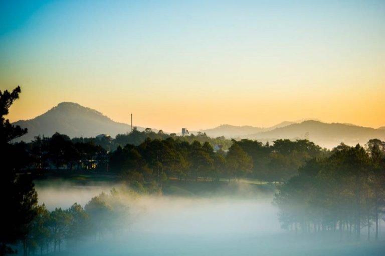 top 10 homestay Đà Lạt view đồi núi