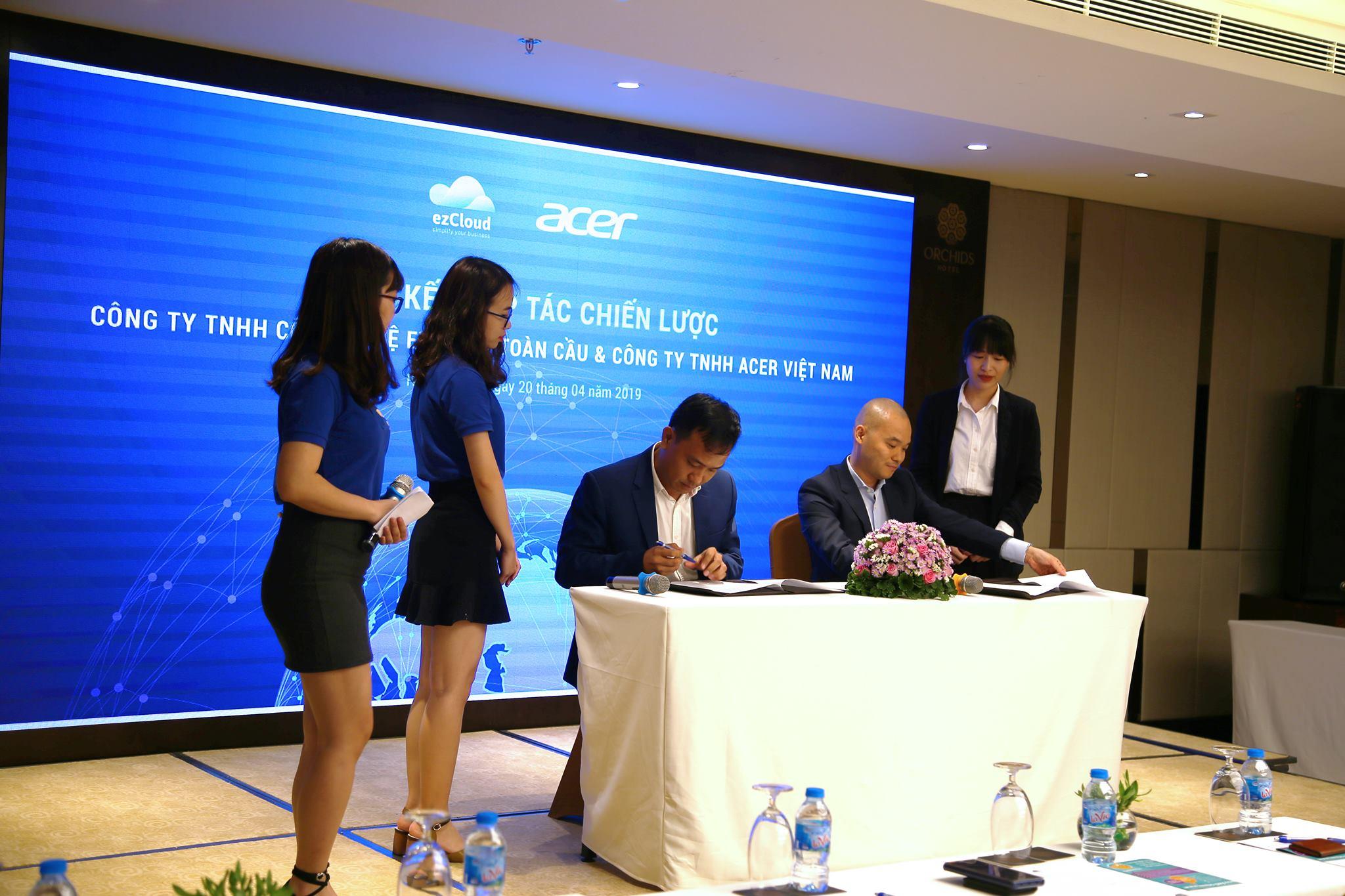 ezCloud hợp tác cùng Acer triển khai chương trình khuyến mãi siêu ưu đãi
