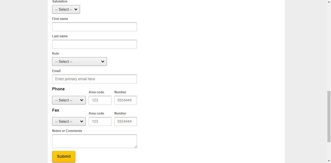 Form đăng ký bán phòng trên Expedia 5