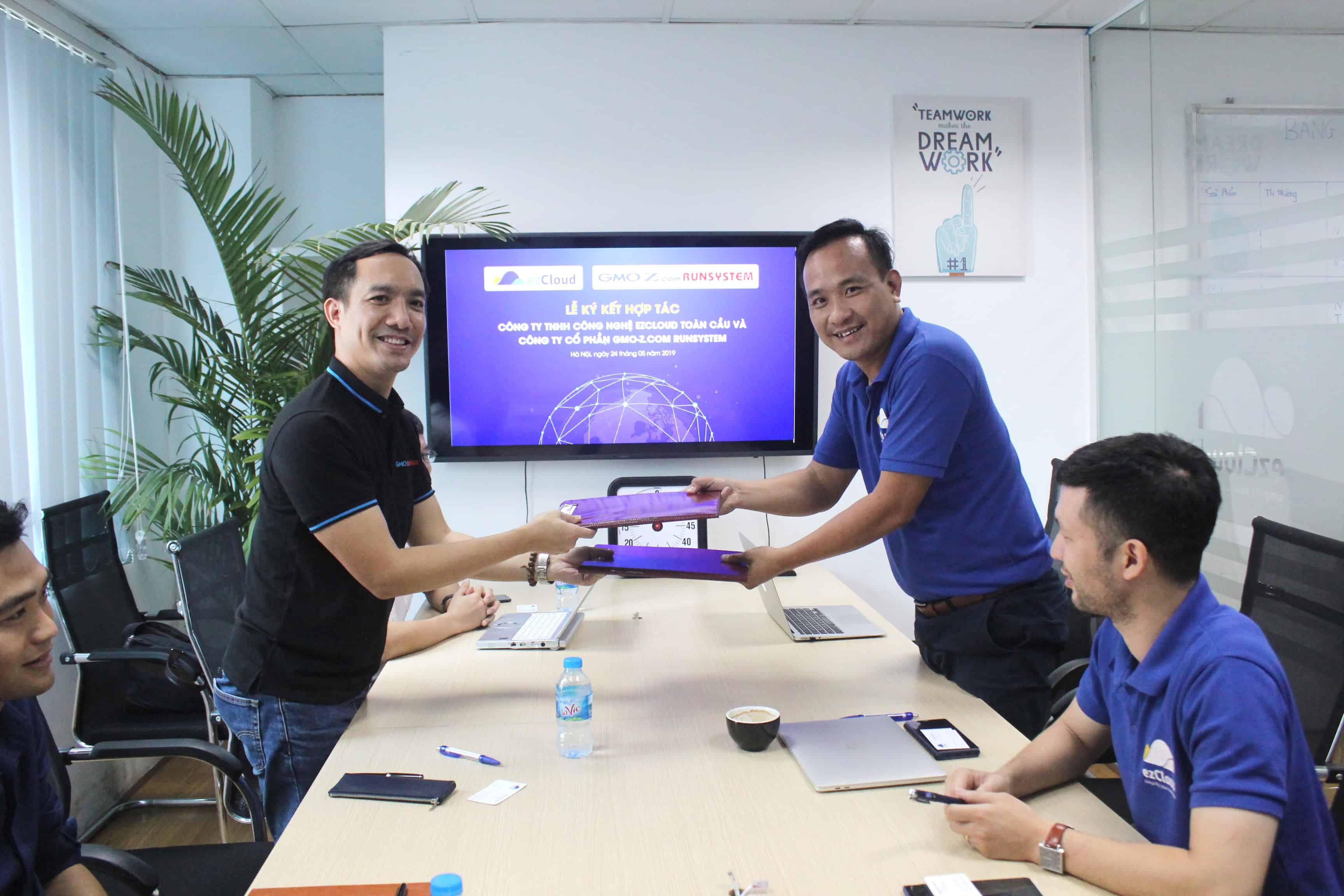 ezCloud và GMO-Z ký kết thỏa thuận hợp tác chiến lược