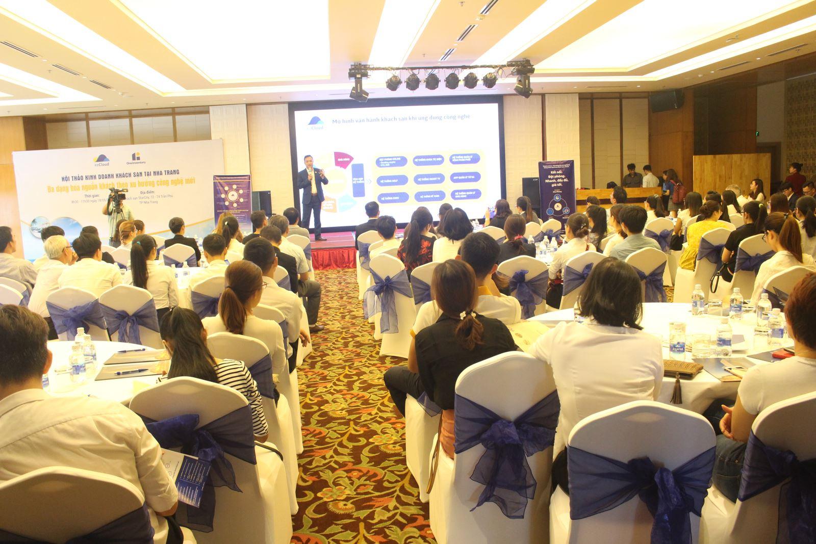 """[dulich.net.vn] ezCloud tổ chức hội thảo: """"Đa dạng hóa nguồn khách theo xu hướng công nghệ mới"""""""