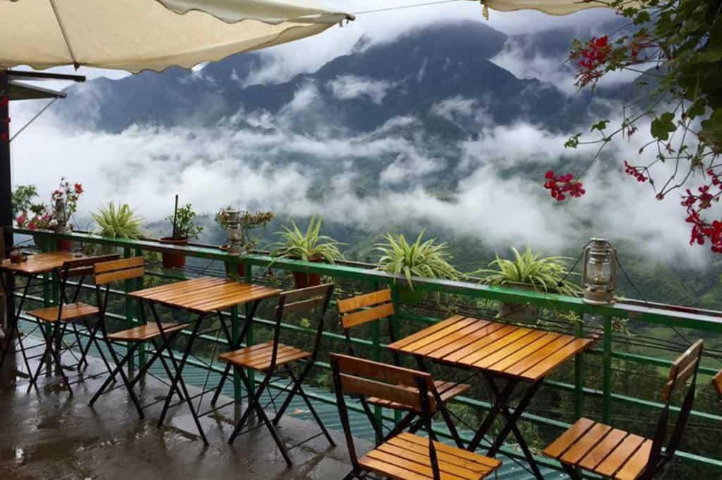 quán cafe view đẹp tại sapa fansipan terace cafe