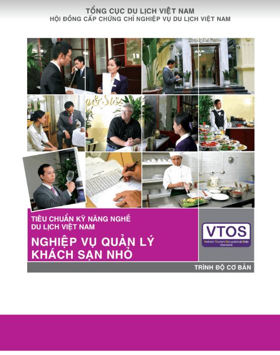 Ebook nghiệp vụ quản lý khách sạn nhỏ của VTOS