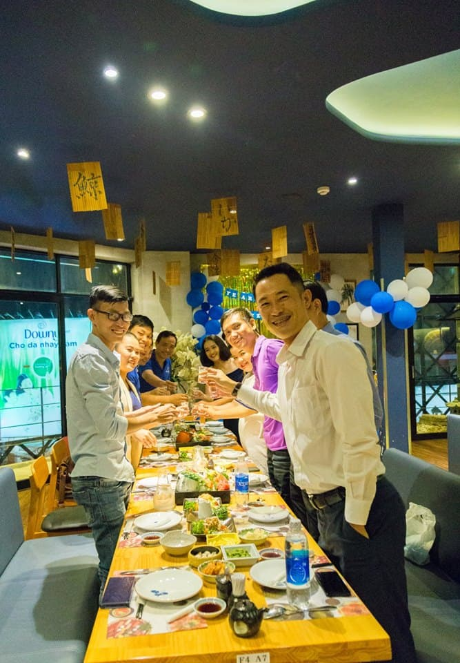 year end party 2018 hcm
