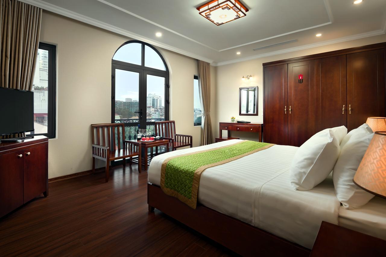 Phòng ngủ khách sạn Bình Anh