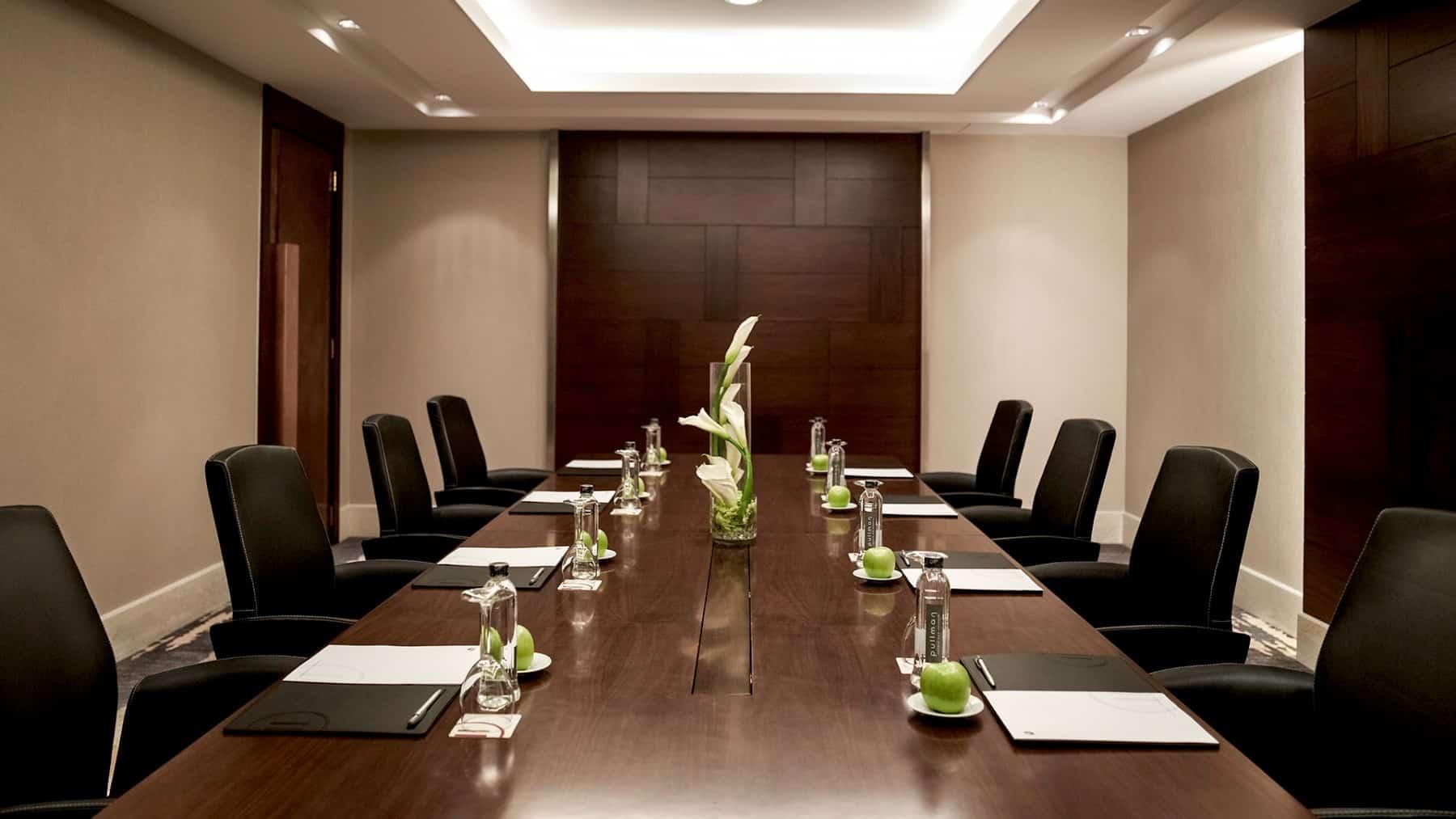 dịch vụ phòng họp dành cho doanh nhân tại khách sạn