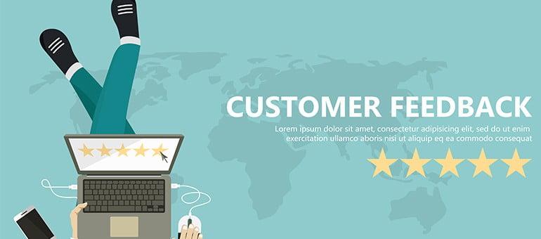 Tích cực theo dõi phản hồi của khách hàng