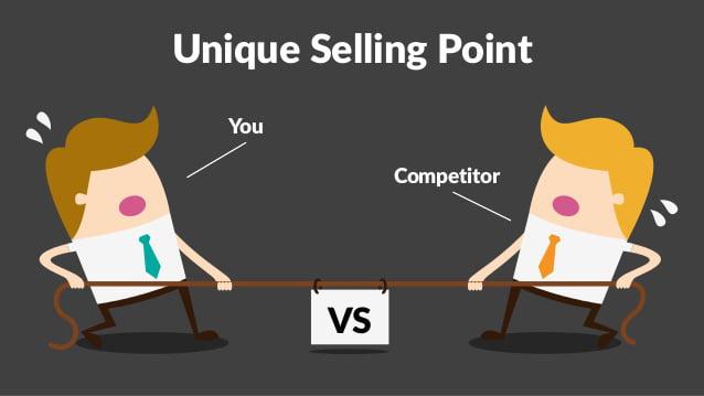 USP - Tại sao khách hàng nên mua hàng từ bạn?