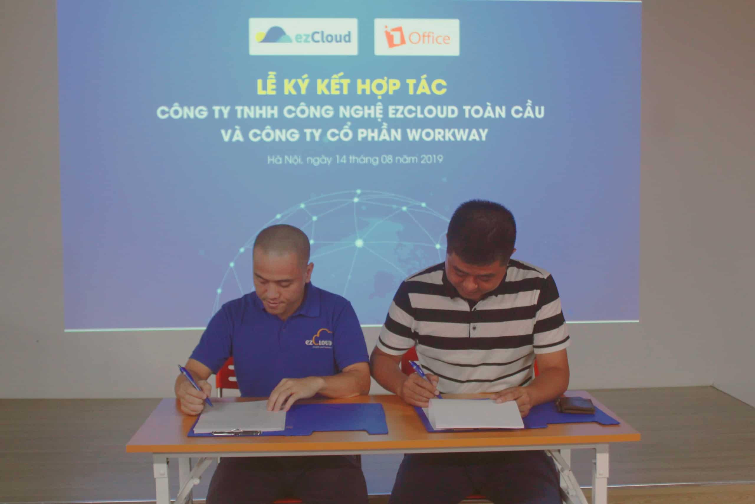 ezCloud và Workway ký kết hợp đồng hợp tác kinh doanh