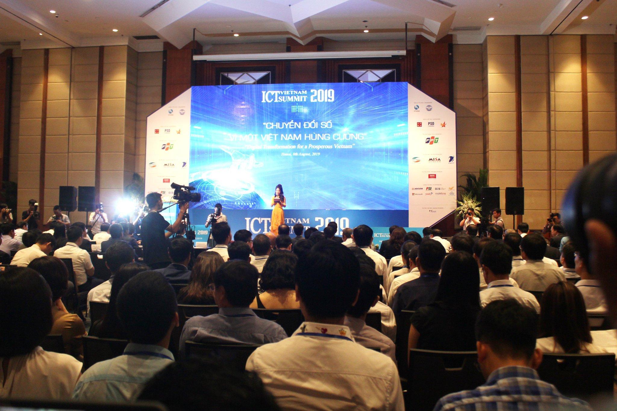 Sự kiện Vietnam ICT Summit 2019