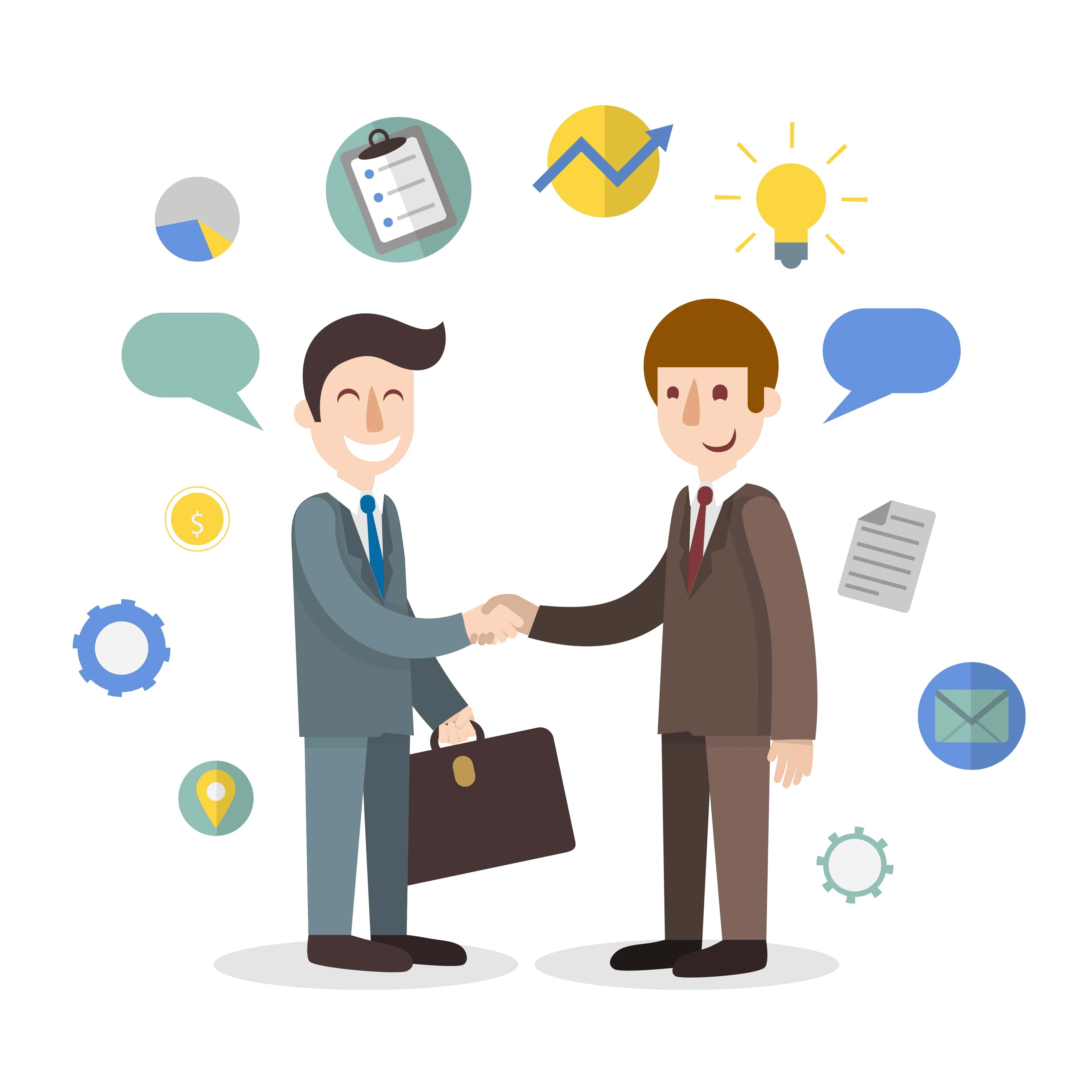 Chủ động trao đổi với khách hàng về dịch vụ
