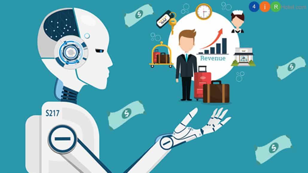 công nghệ AI trong kinh doanh khách sạn