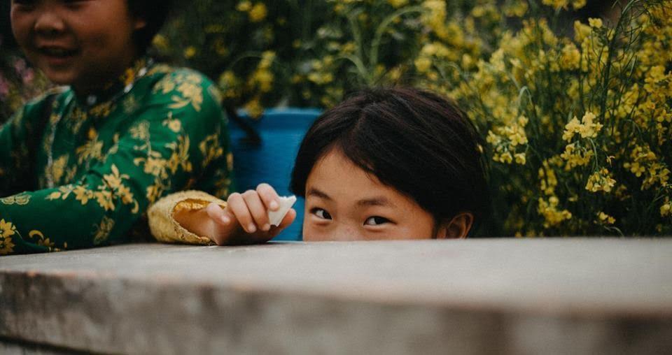 Em bé Hà Giang (Ảnh: Tùng Lâm)