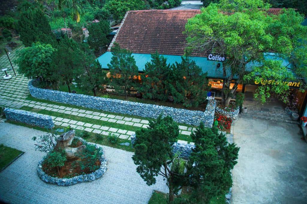 Nhà hàng và Coffee của Ha Giang Historic  Hotel
