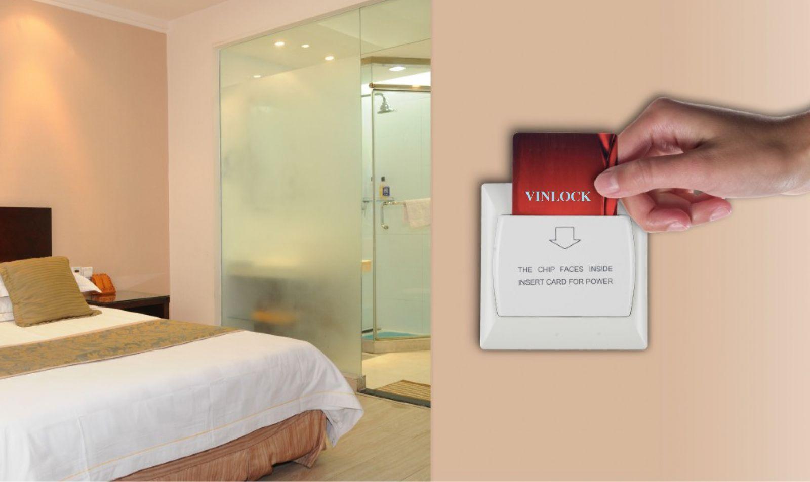 Tiết kiệm điện trong khách sạn bằng cách sử dụng thẻ từ