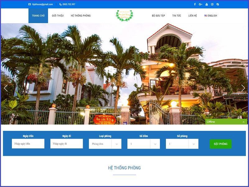 Xây dựng website khách sạn để bán phòng trực tiếp