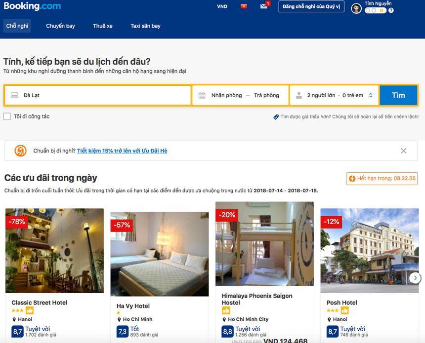 Hướng dẫn cách bán phòng trên Booking hiệu quả nhất (2019)