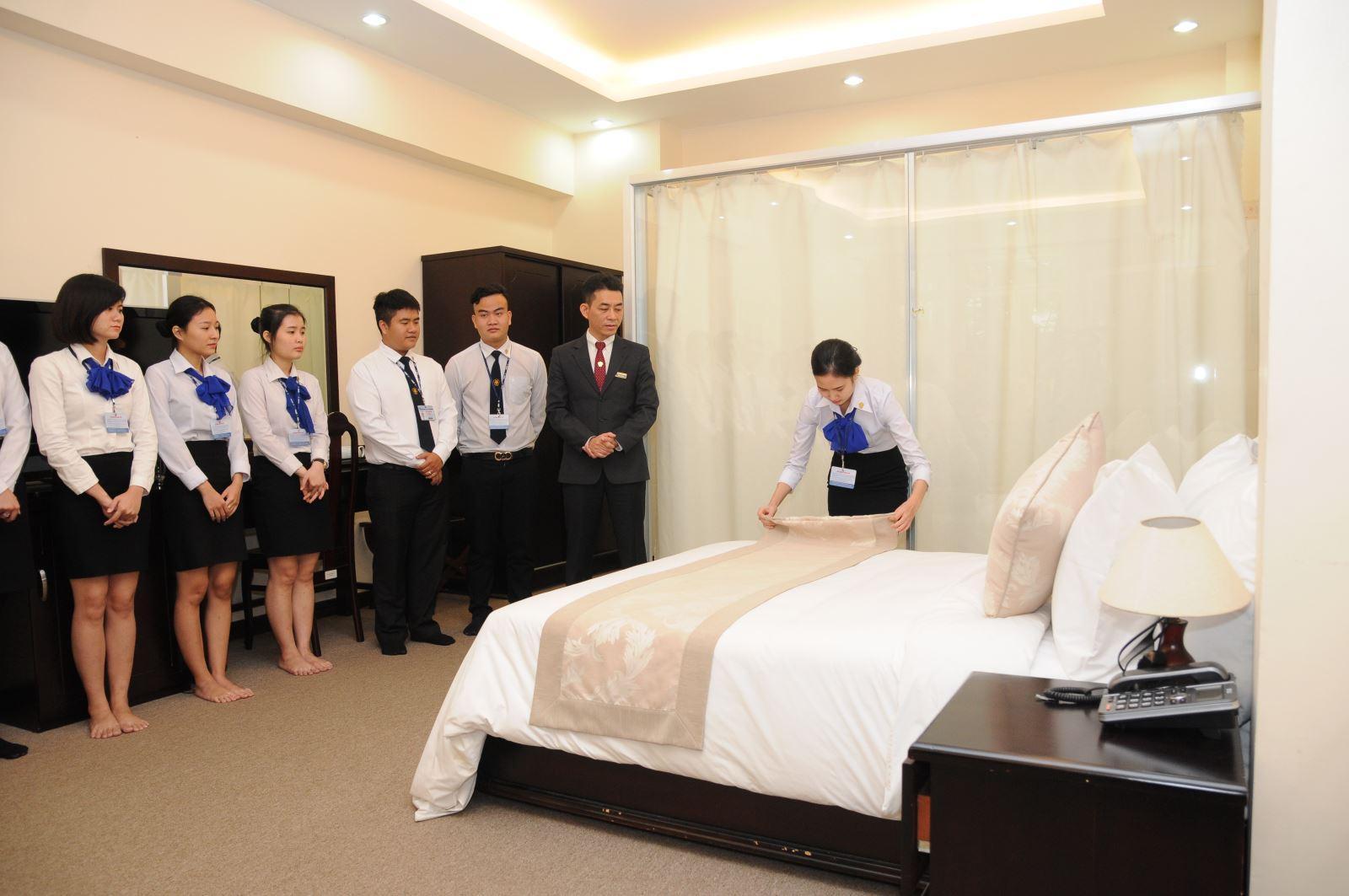 Bộ phận buồng phòng trong khách sạn 3 sao