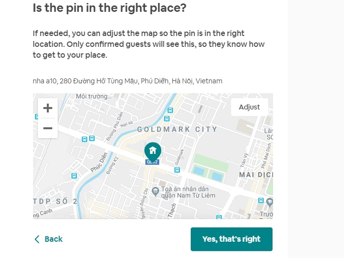 bản đồ hướng dẫn cho khách