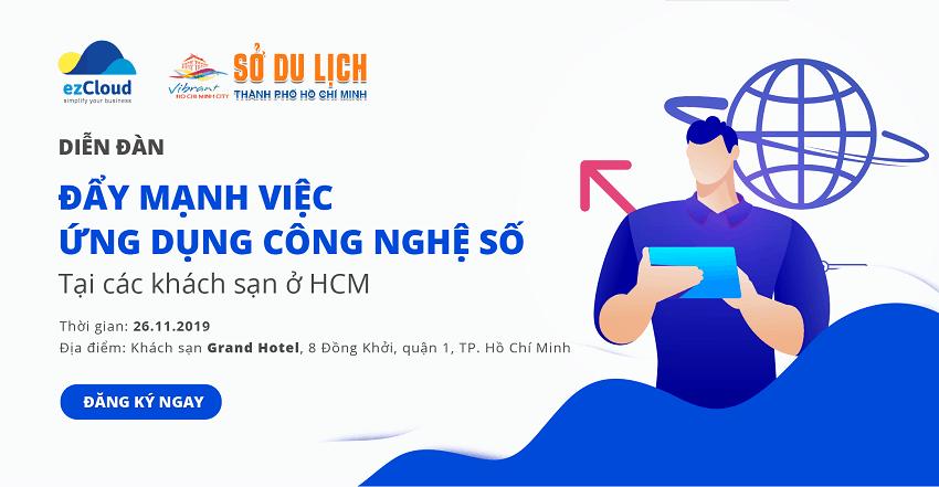 Hội nghị: Đẩy mạnh việc ứng dụng Công nghệ số tại các khách sạn Hồ Chí Minh