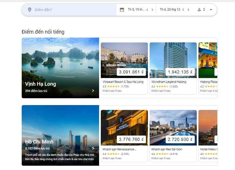 Google Travel là gì? Cách để khách sạn hiển thị tốt nhất trên Google Travel
