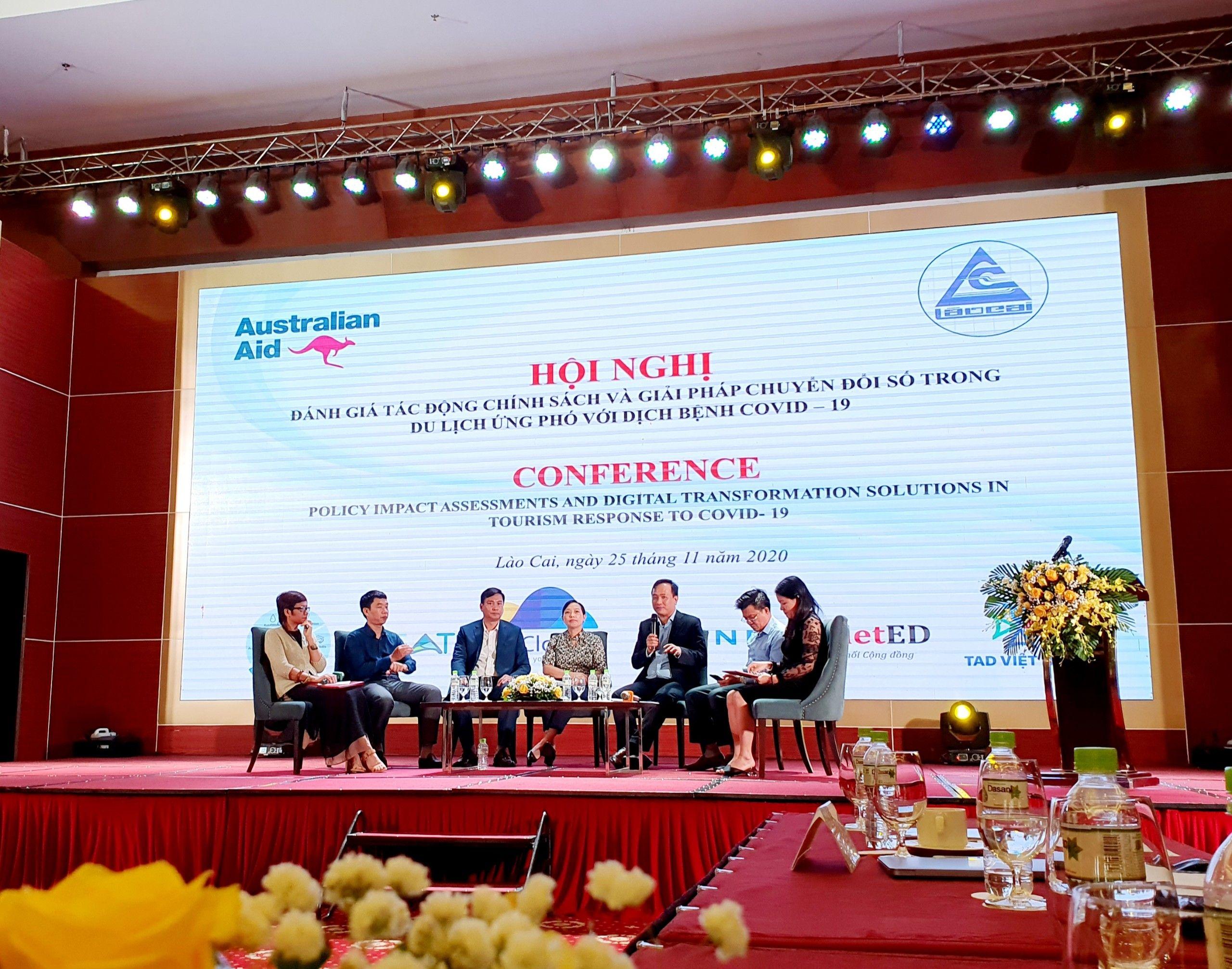 ezCloud kết hợp với UBND tỉnh Lào Cai tổ chức hội nghị Đẩy mạnh Chuyển đổi số trong du lịch